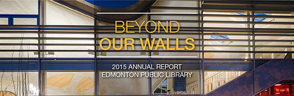 2015 Annual Report Beyond Our Walls