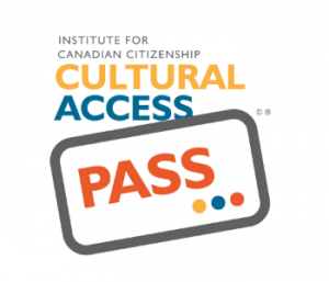 This is the logo of the cultural access pass