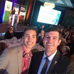 Mayor and Dylan selfie